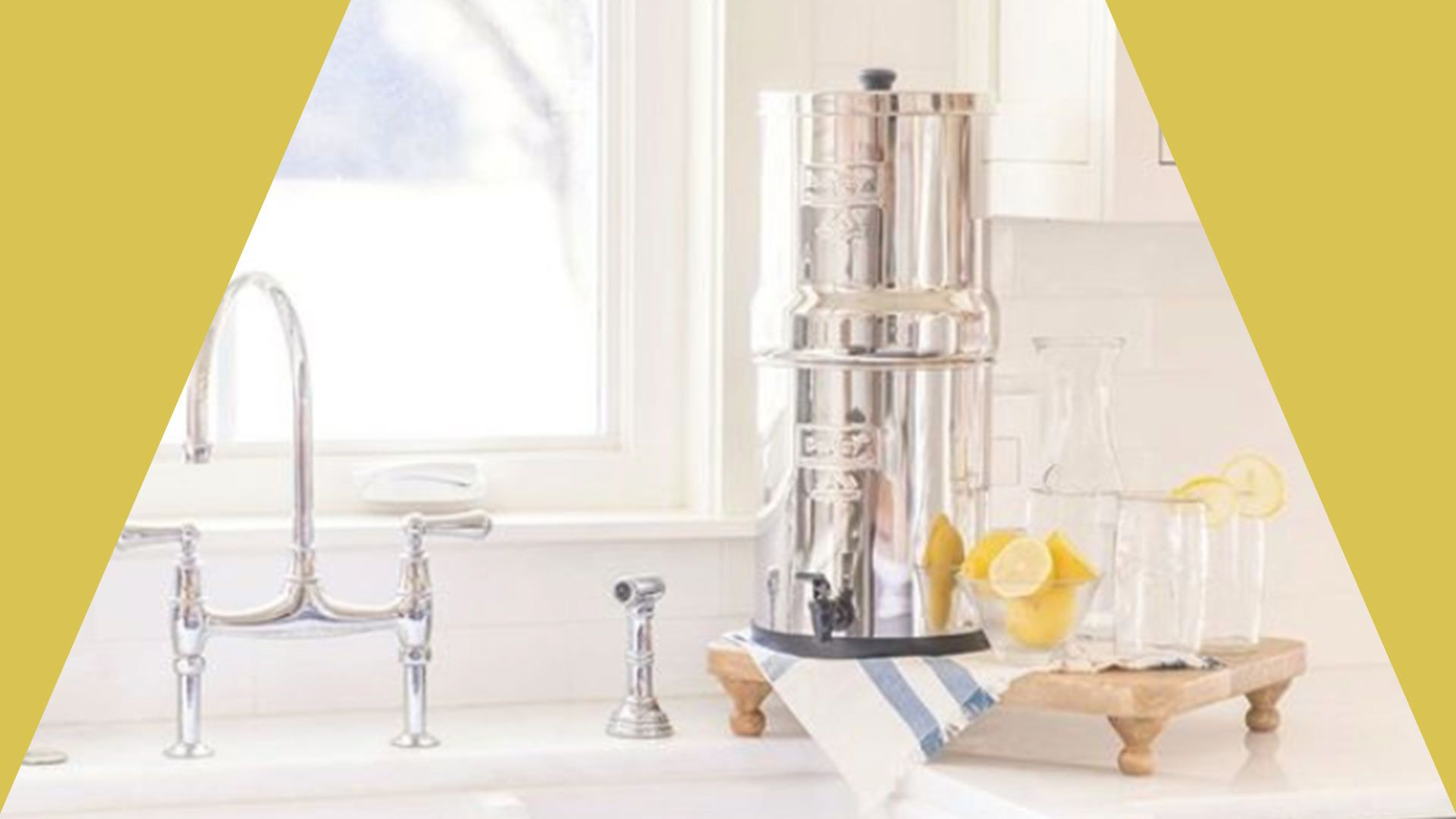 Berkey Gravity-Fed Travel Water Filter ($269)