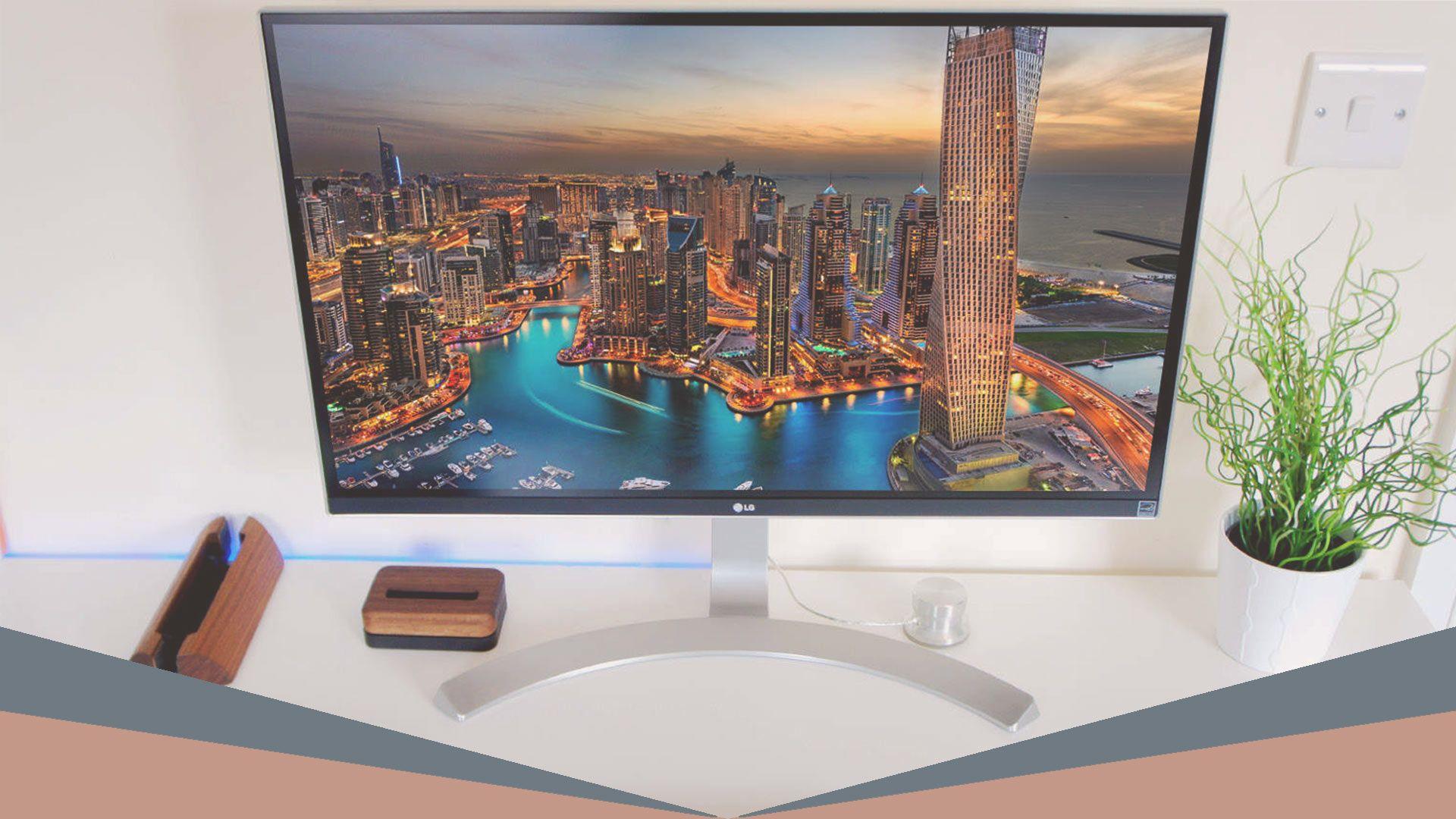 LG 4K UHD IPS Monitor ($450)