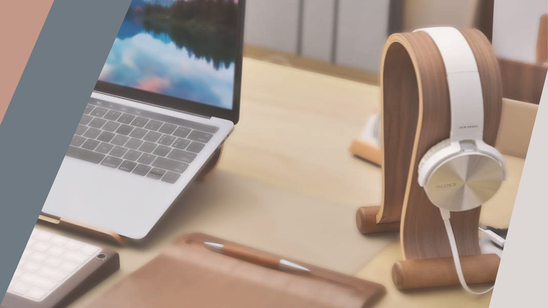 SAMDI Wood Headphone Stand